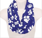 Paw Print Infinity Scarf - All That Glitters - 2