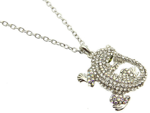 Lizard Charm Necklace - All That Glitters
