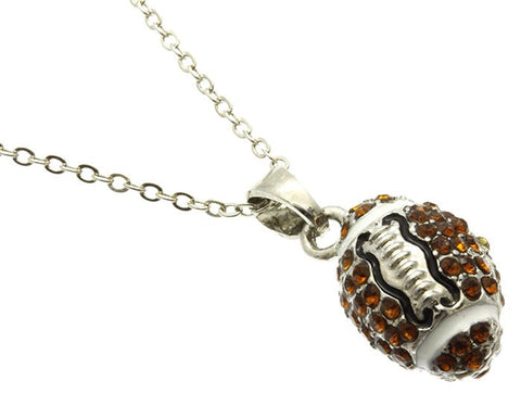 Mini Football Necklace - All That Glitters