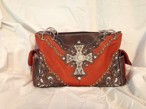 Cross Handbag - All That Glitters - 1