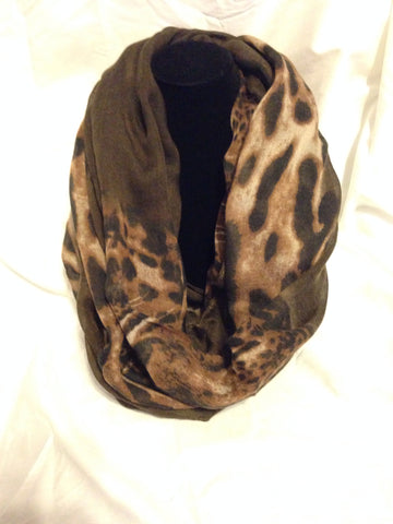 Leopard Infinity Scarf - All That Glitters - 2