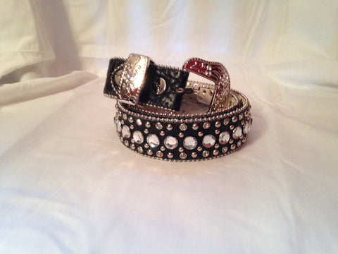 Kids Rhinestone Belt - All That Glitters