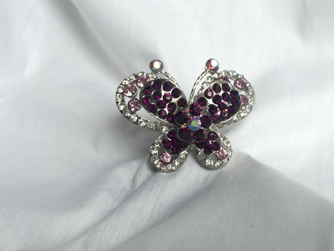 Adjustable Butterfly Ring - All That Glitters