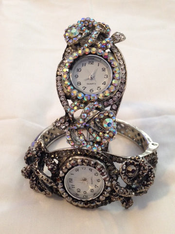 Rhinestone Watch - All That Glitters - 1