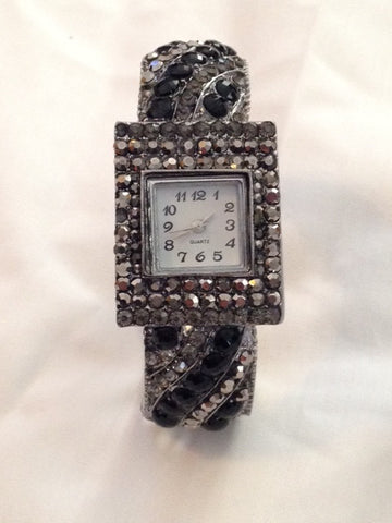 Rhinestone Watch - All That Glitters - 3