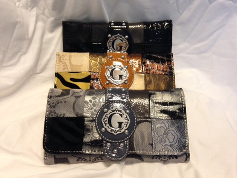 G Signature Patchwork Wallet - All That Glitters - 1