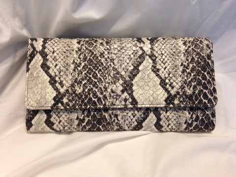 Faux Python Organizer Wallet - All That Glitters