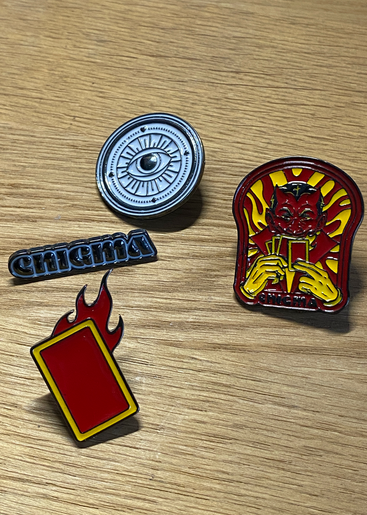 Enigma Pin Collection - Vol.1
