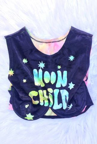 Tie-Dye Moon Child ★ Boyd Crop Bra