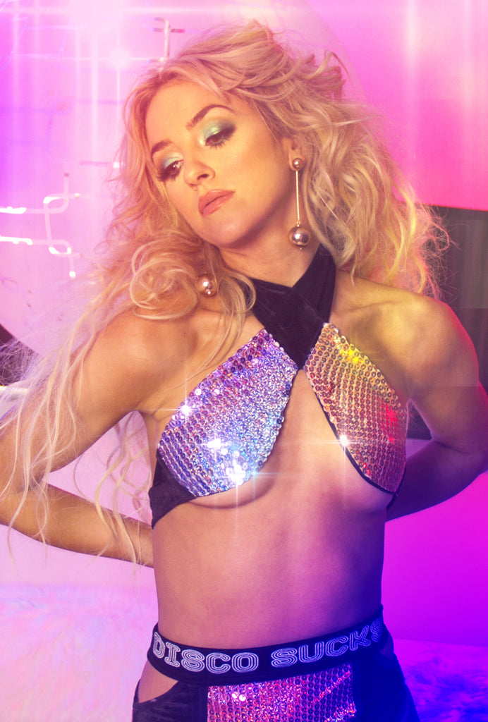 Disco Sucks ★ Cher Halter