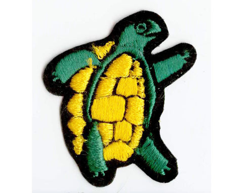Grateful Dead Band Patch - Early 90s Vintage - Rock Music Applique for Jacket - Terrapin Station Turtle - Free US Shipping - 1990s Rockstars