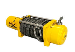 4WD recovery winch. 4x4 electric 12000lb rope winch