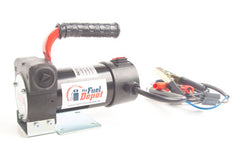 12v battery diesel transfer pump portable