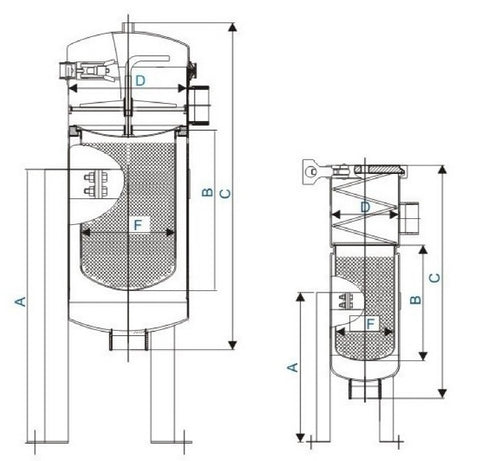 Filter Housing Drawing