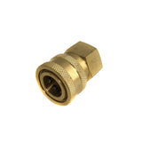 Brass Pressure Washer Hose Fittings Quick Disconnect Socket