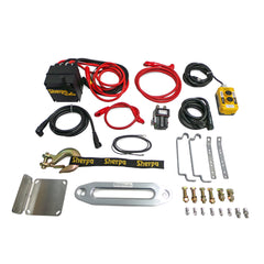 Sherpa Mule Dual Motor Winch Synthetic Rope Parts