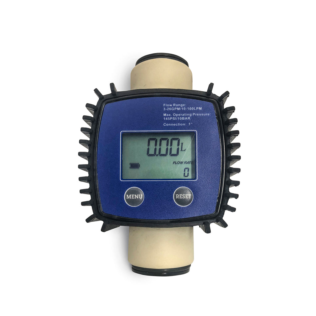 Adblue def diesel exhaust fluid flow meter totaliser