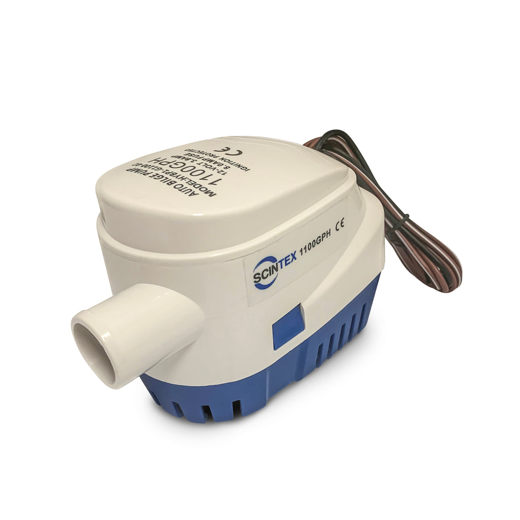 automatic bilge pump with integrated float switch