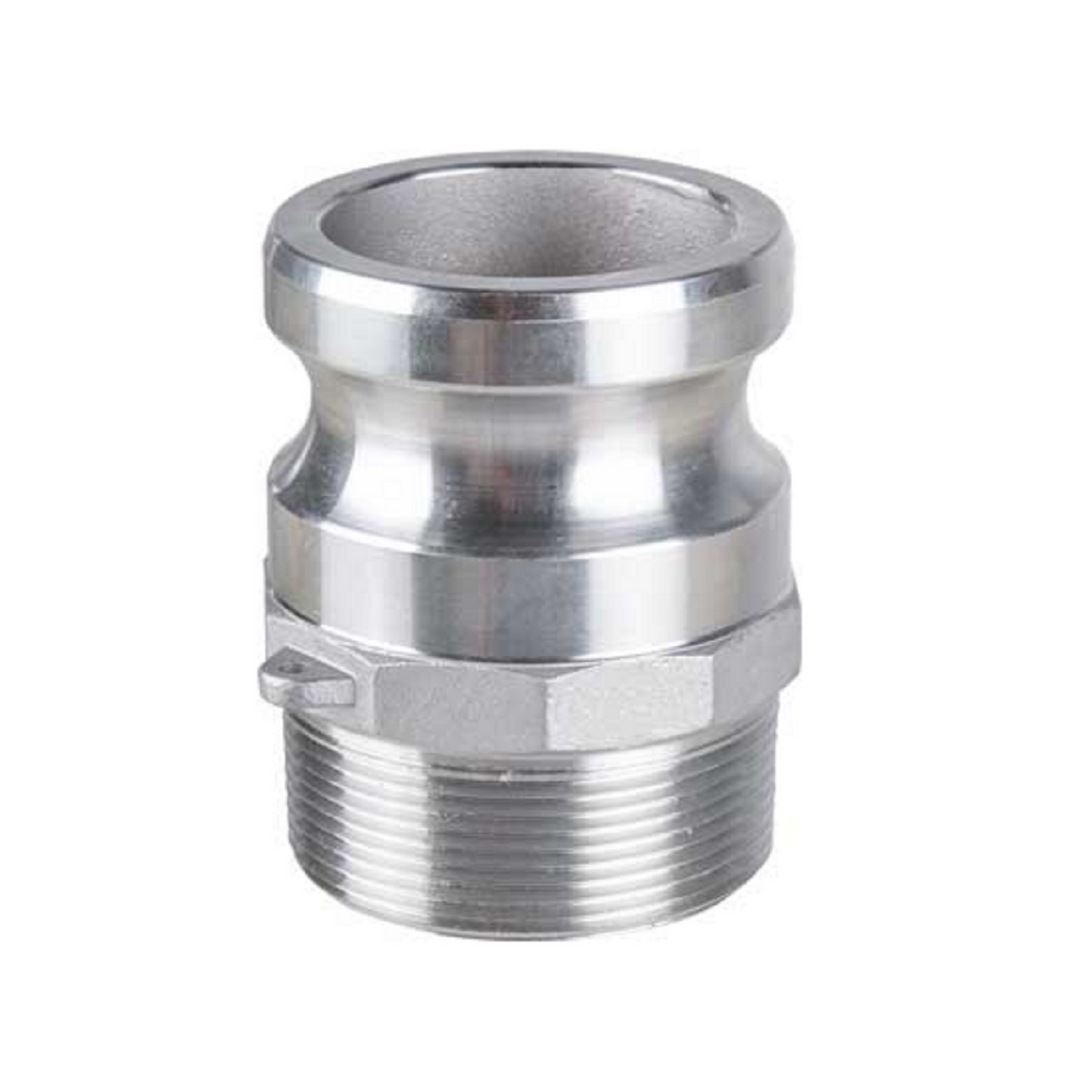 F adaptor Camlock fitting stainless and aluminium