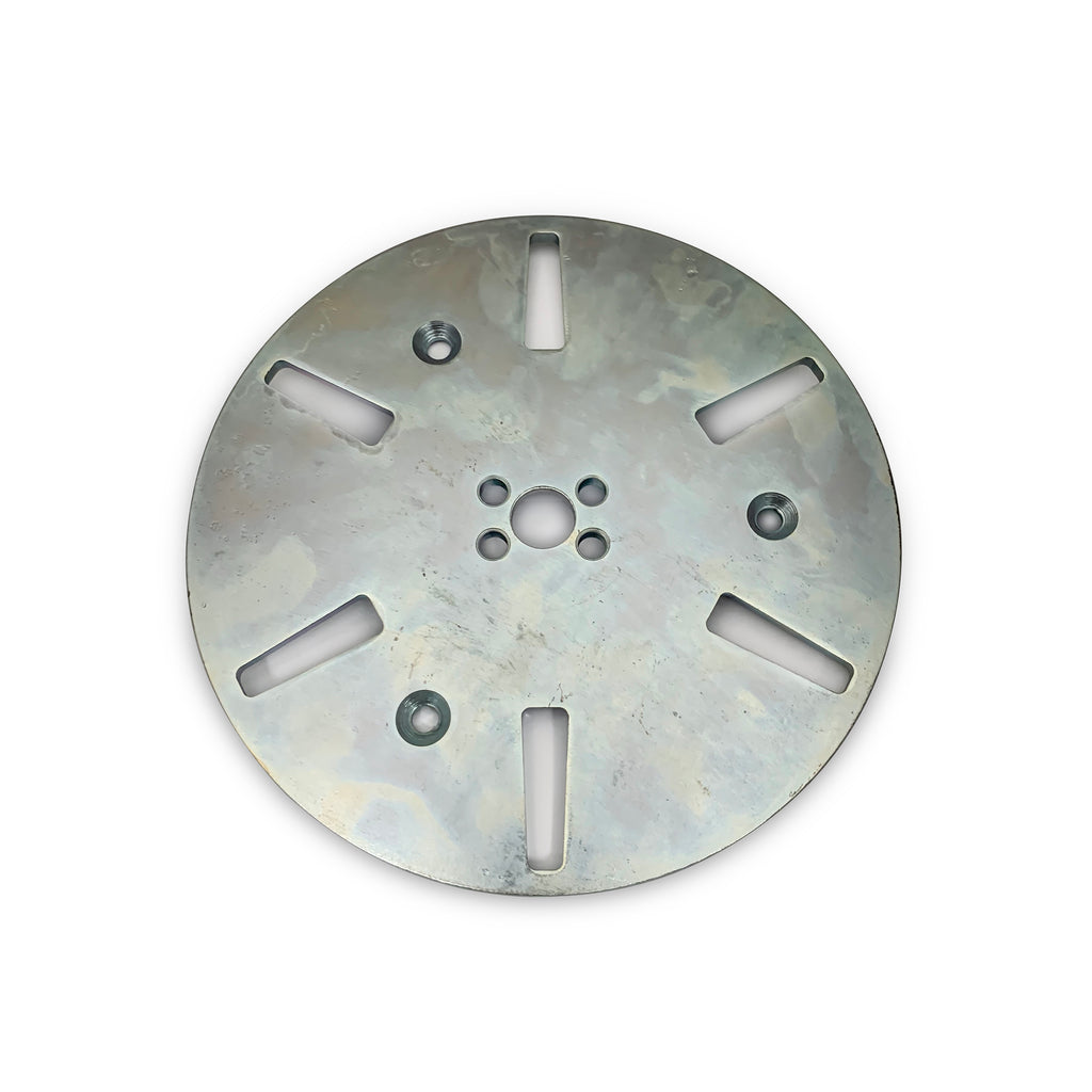 floor grinder 250mm adapter plate for grinding shoes