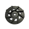 Concrete grinder floor surface preparation discs
