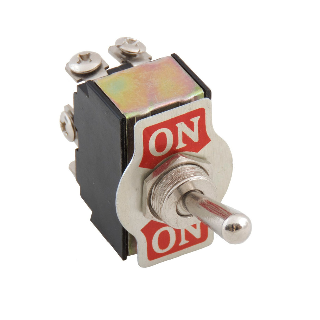 toggle switch on on dpdt for fuel valves