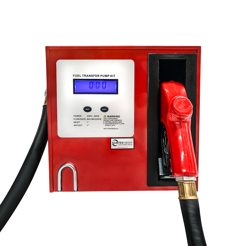 diesel pump digital refueling station flow nozzle