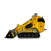 Perkins diesel engine mini tracked loader civil construction self drive