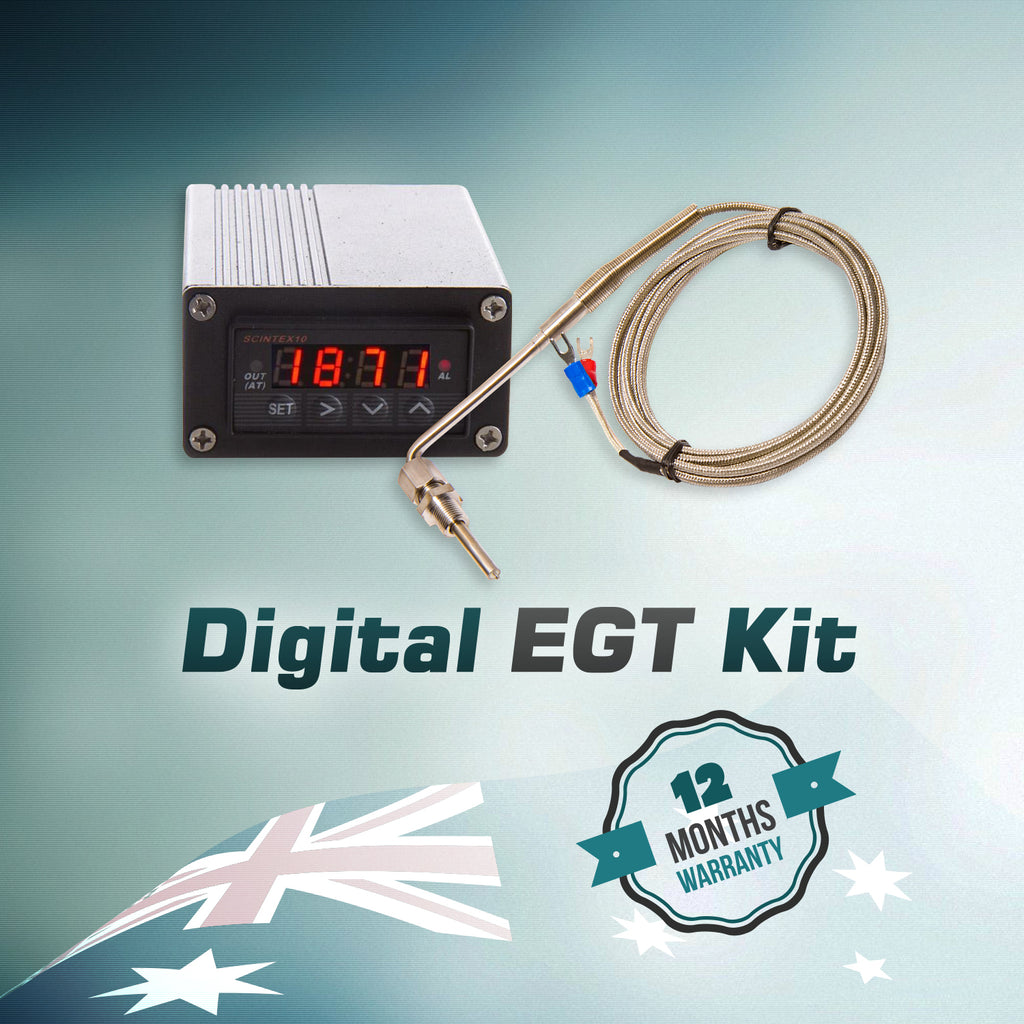 Digital Exhaust Gas Temperature Gauge Egt Pyrometer Probe Vdo Kit Wiring Diagram