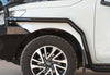 Mounted Holden Colorado Bull Bars 2018+