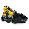 skid steel loader hydraulic bucket