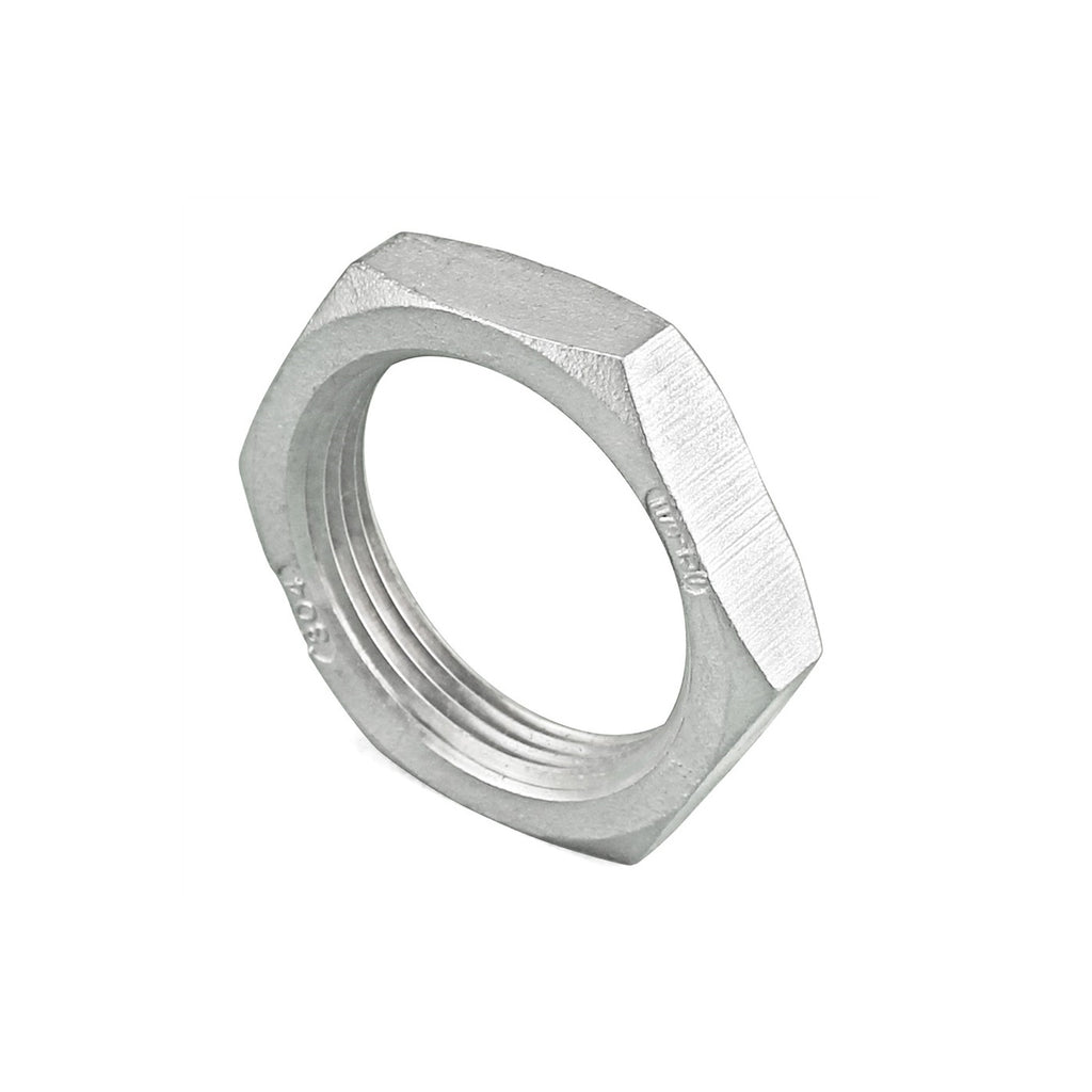Lock Nut BSP Thread Stainless Pipe Fittings