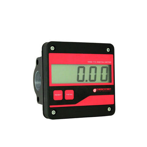 Electronic Gear Meter 1""