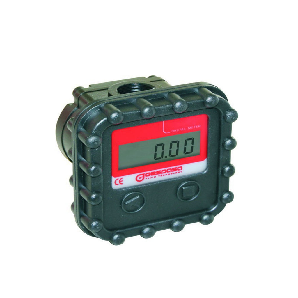 MGE-40 Gespasa Digital Display Diesel Lubricant Oil Gear Flow Meter Totaliser