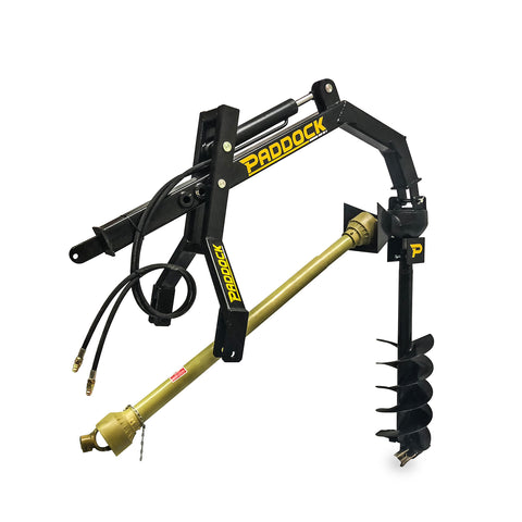 PTO Post Hole Digger - Hydraulic Assist