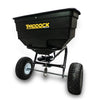 tow behind grass seed broadcast spreader