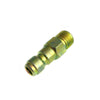 Pressure Washer Hose Fittings Brass 1-4 quick disconnect plug x male thread