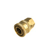Pressure Washer Hose Fittings Brass 1-4 quick disconnect x female thread