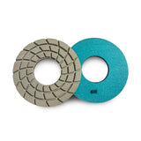 Concrete floor polishing pads discs