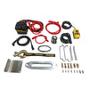 high power winch parts synthetic rope