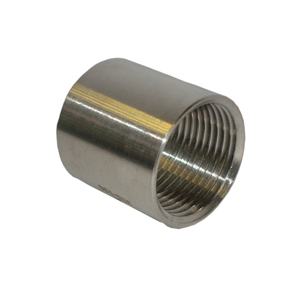 socket coupling bsp fitting stainless