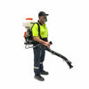 back pack petrol power sprayer mister duster weed engine paddock