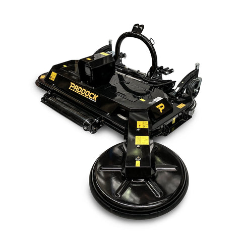 Paddock PTO Rotary Mower with Swing Arm