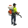 back pack weed sprayer mister paddock stihl