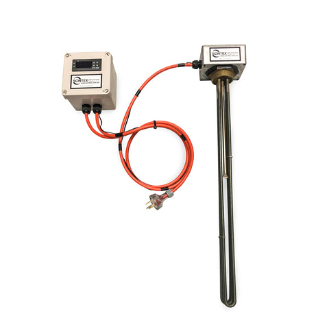Immersion Heater with Digital Thermostat