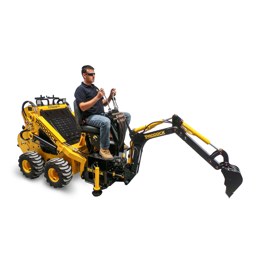 Mini Loader Backhoe Attachment Paddock Machinery