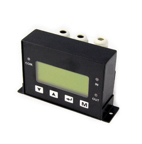 Digital Fuel Flow Meter Display