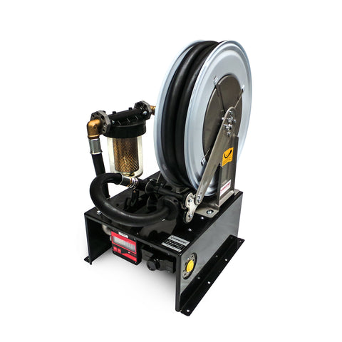 Diesel Pump Kit & Hose Reel