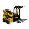 mini loader hydraulic jaws for trees and branches