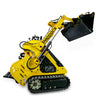 tracked loader with 4 in 1 bucket
